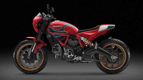 Ducati Scrambler Mike Hailwood Replica