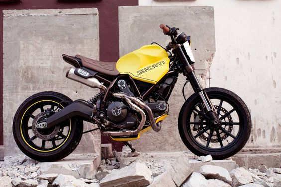 "Ducati Scrambler Street Tracker ""Dirty Fellow"" by Beautiful Machines #motorcycles #streettracker #motos  "
