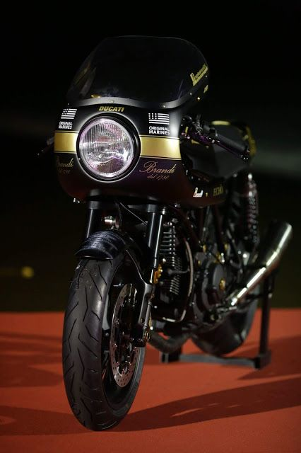 Ducati SS 1000 Cafe Racer by Cafe Racer Napoli #motorcycles #caferacer #motos |