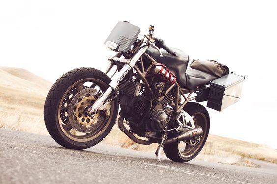 Ducati Super Sport 900 The Operator ~ Return of the Cafe Racers