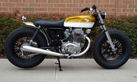 Duo-tone Honda CB350—lovely!