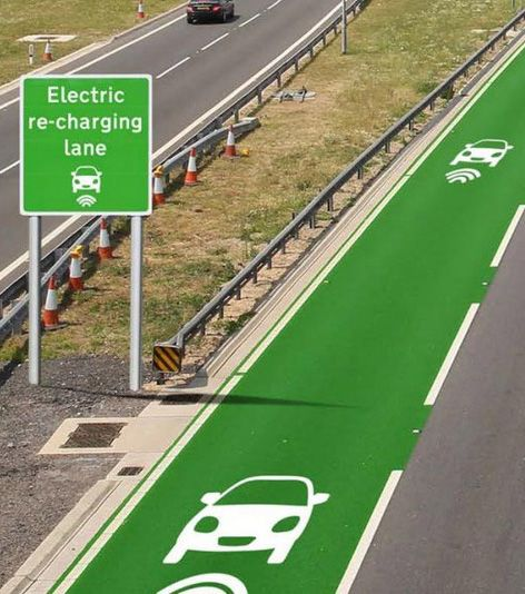 Electric charging lanes could be a reality on English roads within years