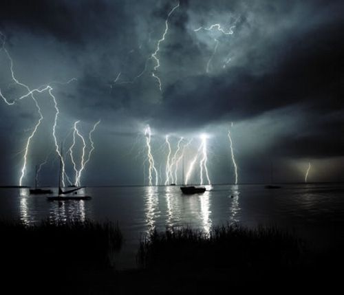 Fascinating Lighting Storm Photography
