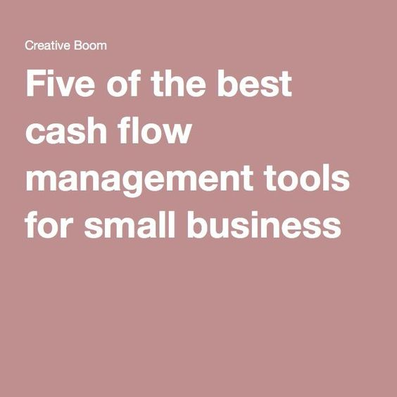 Five of the best cash flow management tools for small business