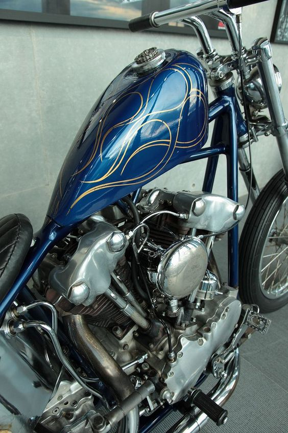 flamed knucklehead [HQ]