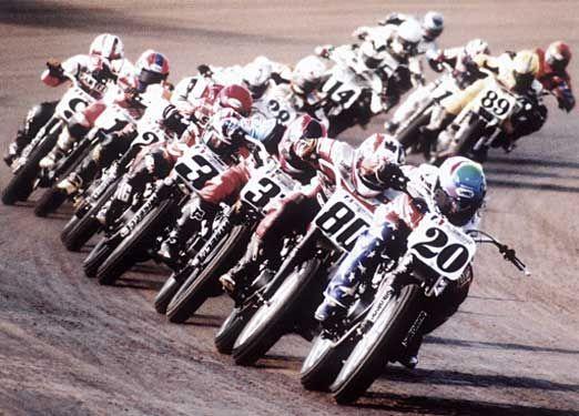 Flat Track Racing.