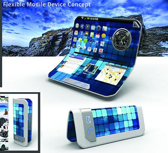 Flexible Mobile Device for the Future Gadgets