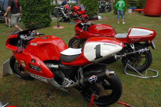 | DSC_0047 Magni Australia + Moto Guzzi Daytona 1000 | At Motoclub Pompone's 25th Anniversary Fest a at Birreria Pedavena, Italy. Magni Australia and Moto Guzzi Daytona 1000