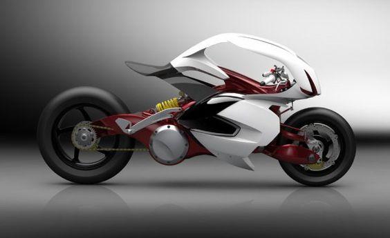 Futuristic Motorcycle, Tesi Sconosciuto