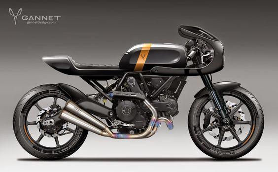 Gannet Design Custom Ducati