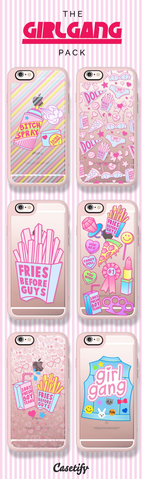 Girls rule! Click to shop our #GirlGang collection here:  | @Casetify