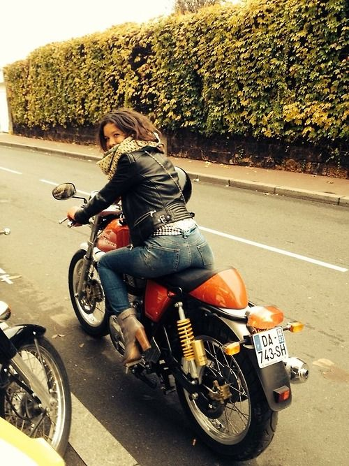 Girls X Cafe Racer = Win