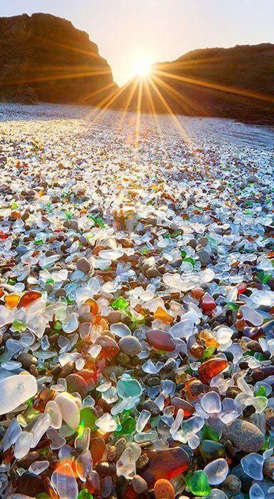 Glass Beach, MacKerricher State Park, near Fort Bragg, California