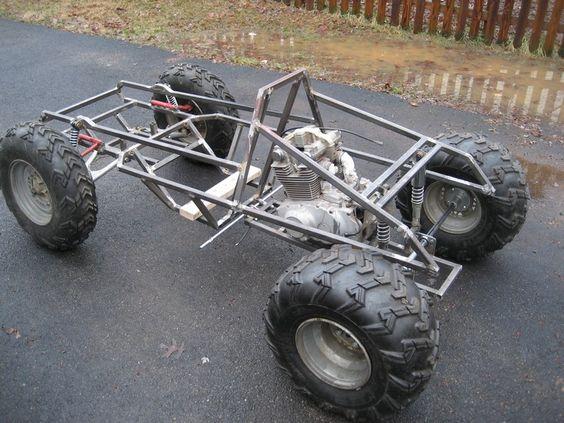 go kart frame design