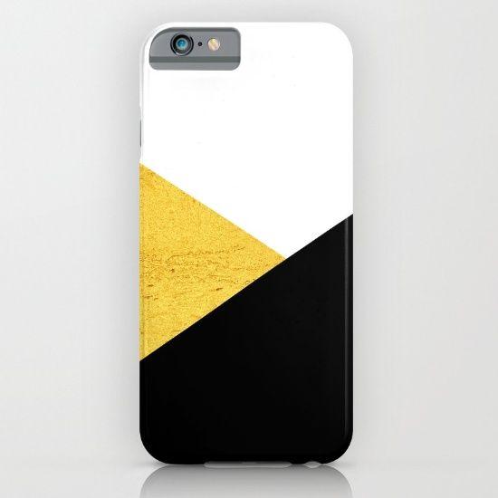 Gold & Black Geometry - $35