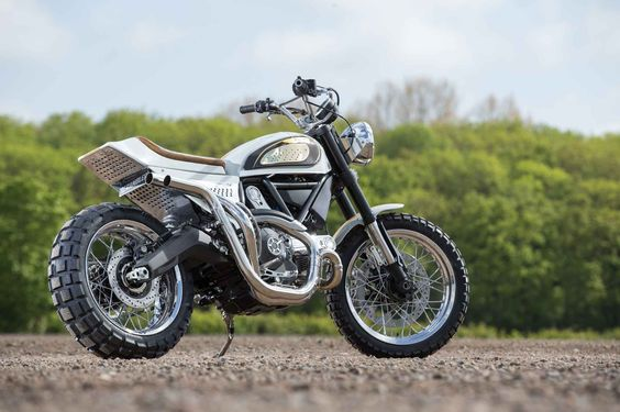 Gorgeous Custom Ducati Scramblers At The 2015 Bike Shed Motorcycle Show -