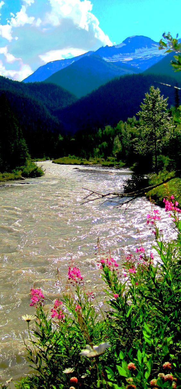 Gorgeous mountain river, North Carolina.
