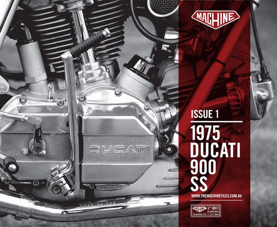 Great news for fans of classic motorcycles: the start of a new magazine series from one of the world's finest bike builders, Matt Machine.  It's called The Machine Files and the first issue explores the Ducati 900 SS.  Get your copy from