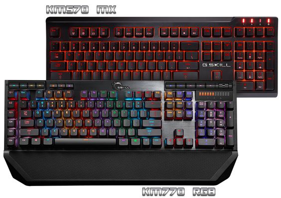 announces two new gaming mechanical keyboards under its 's Ripjaws line, with Cherry MX Red, Blue and Brown switches.