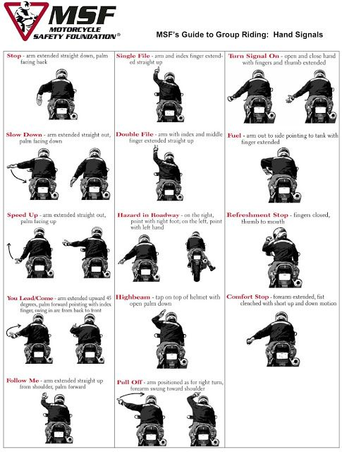Guide to Group Riding - Motorcycle Safety