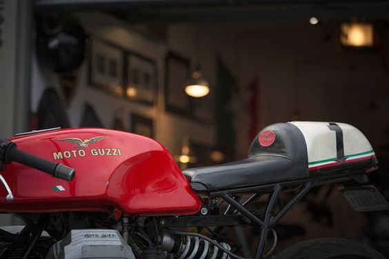 Guzzi 1100 Sport Cafe Racer ~ Return of the Cafe Racers