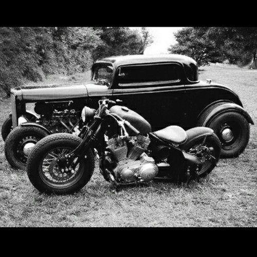 Harley-Davidson | Bobber Inspiration - Bobbers and Custom Motorcycles August 2014 #bobber #hotrod