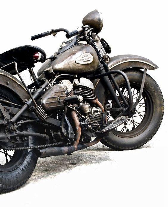 Harley Davidson Bullet.