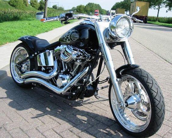 :: Harley Davidson custom ::