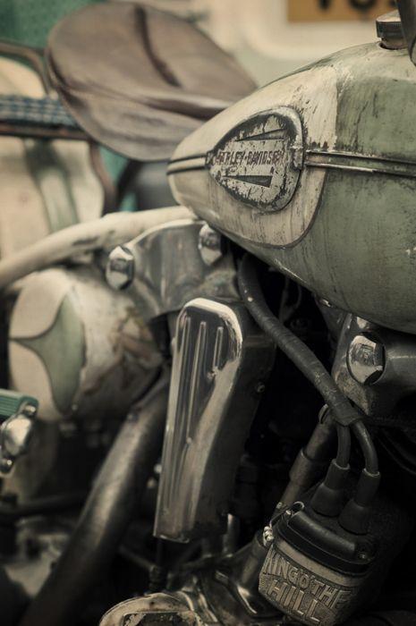 Harley Davidson Knucklehead #motorcycle #motorbike