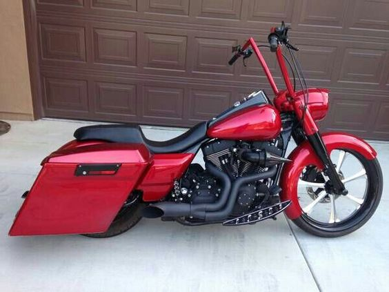 Harley Davidson Road King. Custom