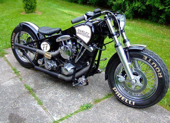 Harley-Davidson Shovelhead.