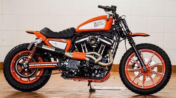 #HarleyDavidson Scrambler #motorcycles #scrambler #motos |