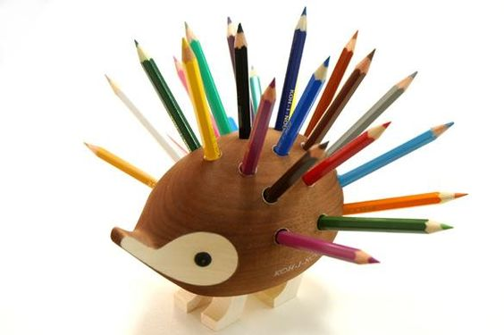 Hedgehog Pencil Holder | Ubergizmo