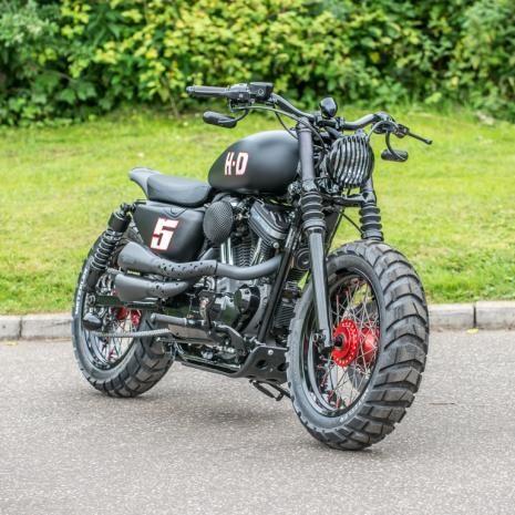 ϟ Hell Kustom ϟ: Harley Davidson Sportster By Shaw Speed And
