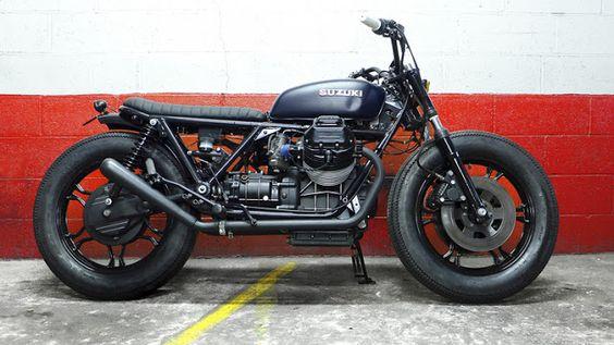 ϟ Hell Kustom ϟ: Moto Guzzi SP1000 By Blitz