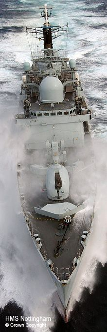 HMS Nottingham Type 42 Destroyer