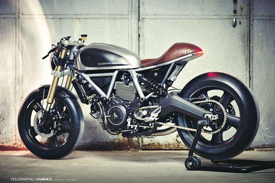 Holographic Hammer Ducati Scrambler Cafe Racer ~ Return of the Cafe Racers