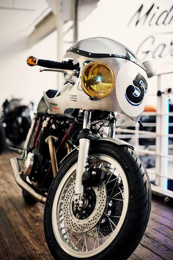 Honda Cafe Racer BigBore Kit #motorcycles #caferacer #motos |