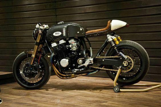 Honda Cafe Racer by Oficina MRS #caferacer #motos #motorcycles | Cafe Racer Pasión
