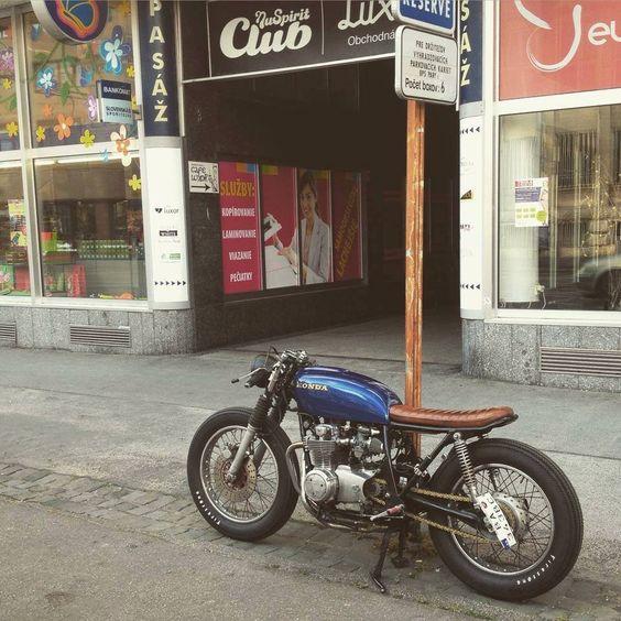 Honda #caferacer discover #motomood | Repin by