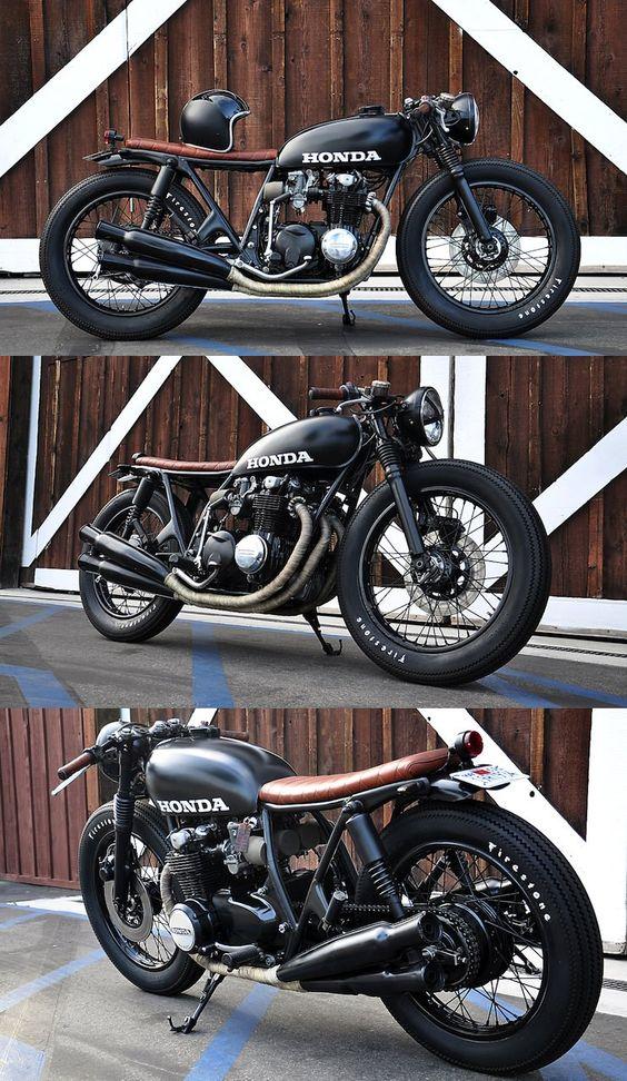 Honda CB 550 cafe racer