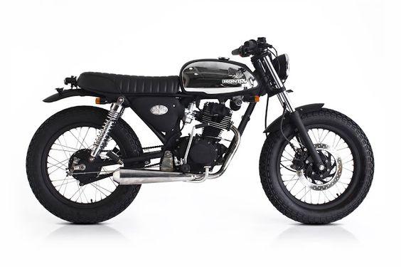 Honda CB100 Brat Style by Deus Ex Machina #motorcycles #bratstyle #motos |