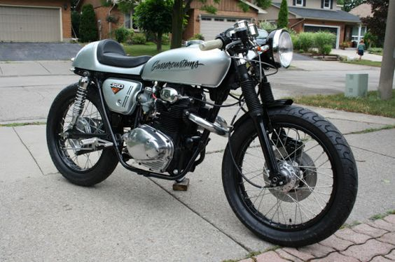 Honda CB350 Cafe Racer by Gasser Customs #motorcycles #caferacer #motos |