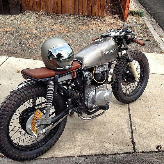 Honda CB360 #caferacer #motorcycles #motos |