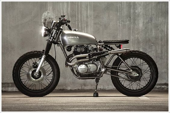 Honda CB360 – 'Doris'  - Pipeburn - Purveyors of Classic Motorcycles, Cafe Racers & Custom motorbikes
