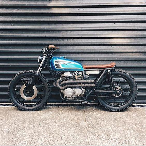 Honda CB360 #motorcycles #bratstyle #motos |