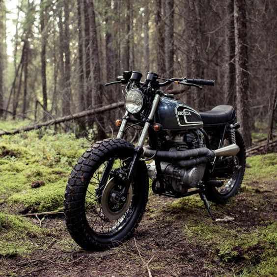 Honda CB360 Scrambler by Federal Moto