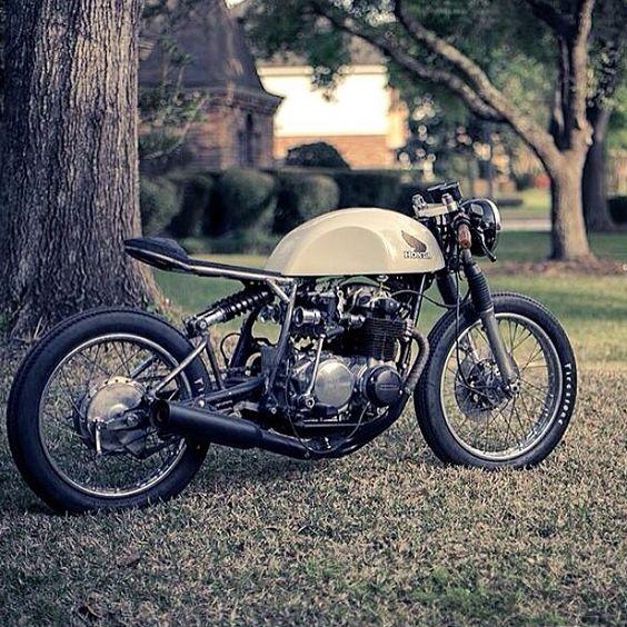 Honda CB500 by Kinetic Motorcycles