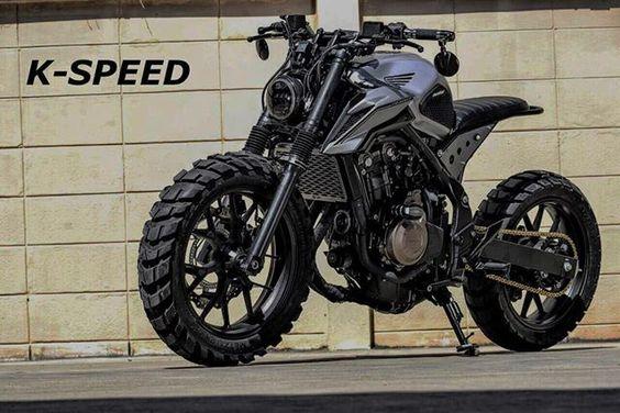 Honda CB500T Street Tracker by K-SPEED #motorcycles #streettracker #motos |
