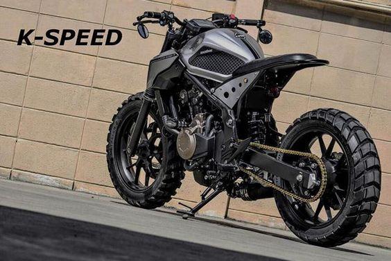 Honda CB500T Street Tracker by K-SPEED |
